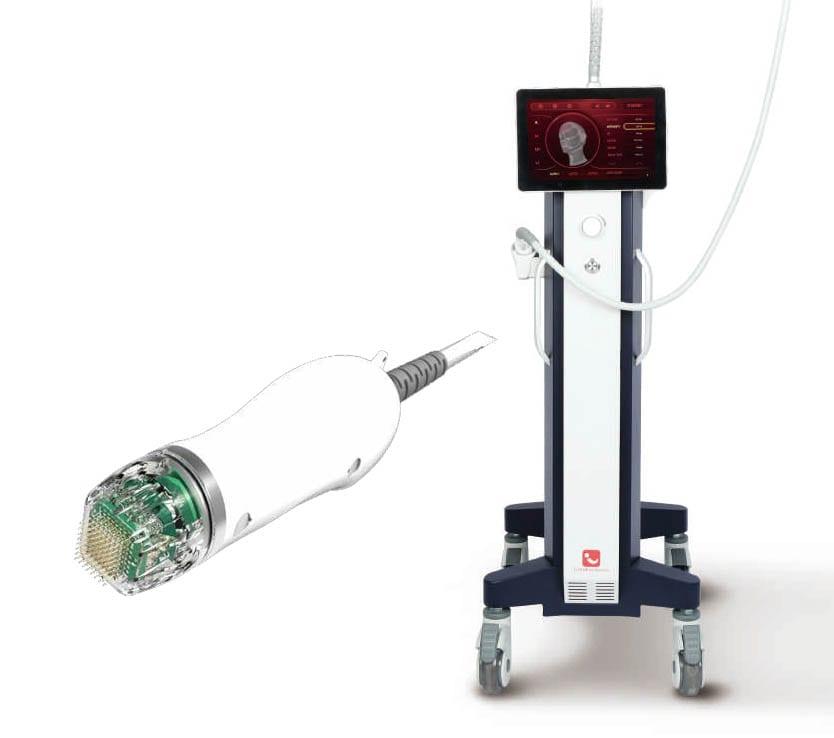 Non insulated micro-needling machine